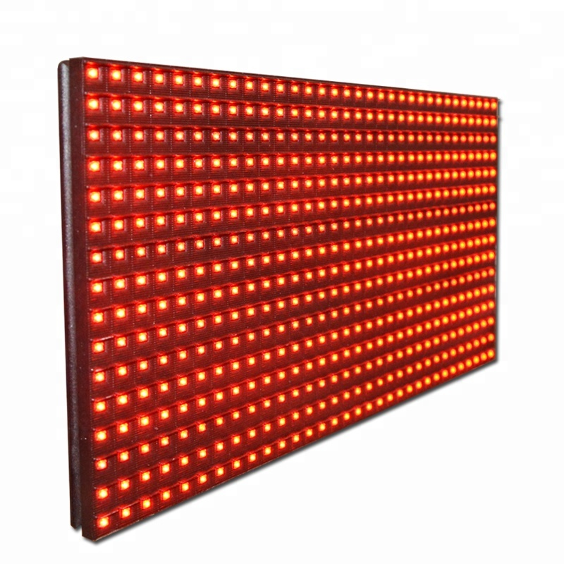 Red <strong>P10</strong> LED Programmable Display Board for <strong>Outdoor</strong> Advertising