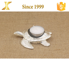 Decorative white silver animal shape candle holder cheap price