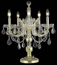 5 lights crystal candle holder silver candelabra for home table decor