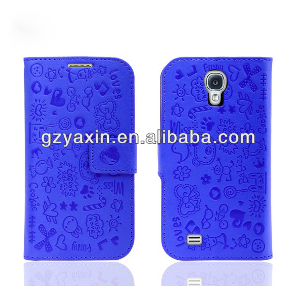 Mobiles Phone Cover For Samsung s4/New Design Mobile Phone Leather Case For Samsung/For Samsung s4 Flip Case