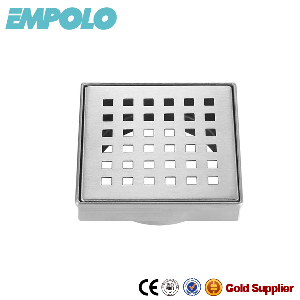 Outdoor Stainless Steel Floor Drain Square Floor Drainer Cover 68821