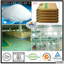 distilled glycerin monostearate E471 China Manufacturer CAS: 123-94-4, C21H42O4, HLB: 3.6-4.0 Large Stock for Export 99% GMS
