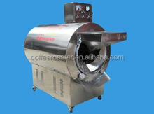 hot selling professional electric gas continuous Roller Roaster for peanuts sunflower seeds