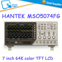 New Authentic Hantek MSO5074FG 4 Channel Digital Oscilloscope + 8 Channel Logic Analyzer with Function Signal Generator