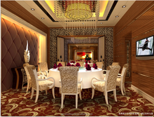 Modern Banquet Hall Flooring Nylon Carpet Restaurants Carpet Design with Floral Printed Pattern