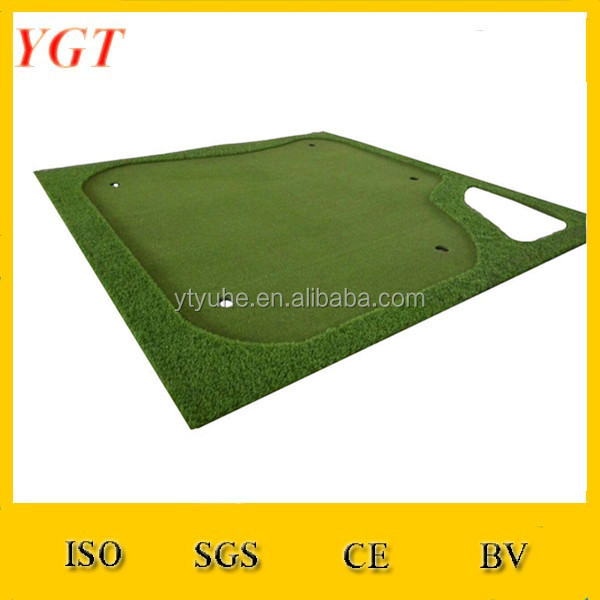 YGT golf putting green air mat manufacturers playground rubber mat