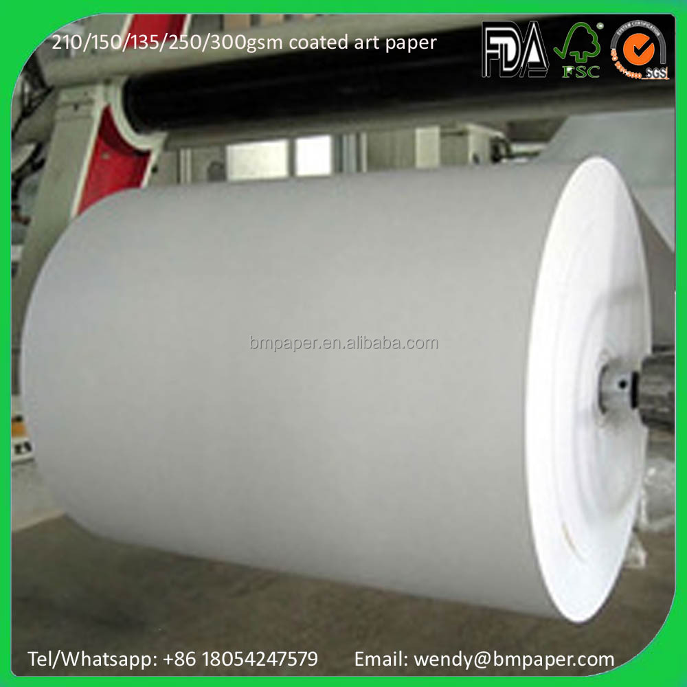 C2S coated A3 150gsm Glossy Art Paper Supplier
