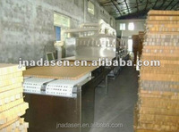 Continuous hard paper board microwave dryer/Tunnel type microwave paper tube drying machine