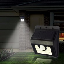 IP65 Waterproof Outdoor Wall Mounted 18650 Battery Powered PIR Sensor 24led 12led Solar Motion Lights