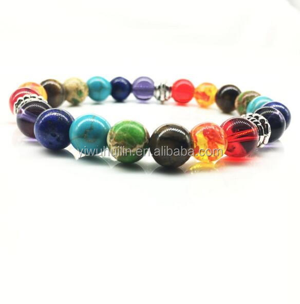 Trade Assurance High Quality Huilin Jewelry Obsidian Beaded Bracelet Natural Color Obsidian Bucket Beads Bracelet Wholesale