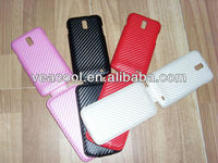 Carbon Fiber style Leather Case for Samsung Celox 4G LTE Galaxy S2 i9210 E110s