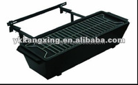balcony hanging charcoal bbq grill window grill design