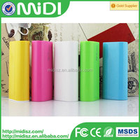 Portable Battery for Mobile phone power bank , Small Size Power bank Station real Capacity powerbank