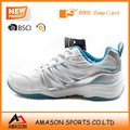 2018 top brand badminton shoes indoor sports power cushion ergo shape tennis shoes wholesale OEM factory Ab3201