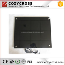 Far Infrared Heating Panel Anti-fog Glass IR Panel <strong>Heater</strong> for Bathroom