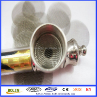 Alibaba China Stainless Steel/Brass/Titanium Cigarette Filter Screens for Electronic Cigarette Filter