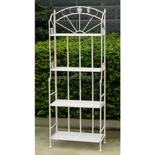 New 4-tier metal folding plant stand
