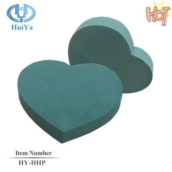 Heart Shaped Foam for flower arrangement accessories in Funeral