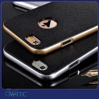 Hot Selling Metal Bumper Silicone Cover for iPhone Case