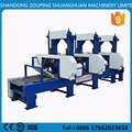 Multiple Head Horizontal Industrial Woodworking Band Sawmill Multiple Heads Horizontal timber Band Sawmill