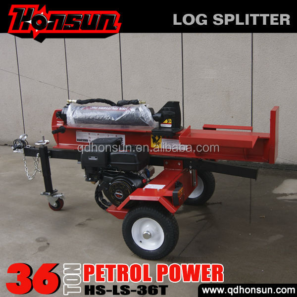Europe standard Honda, Briggs & Stratton, Kohler option cheap China 36T wood log cutter and splitter