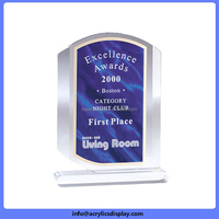 Bottom price Best Selling clear acrylic trophy blanks