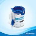 New DOA urine test cup with split key