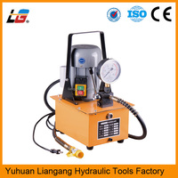 CE certifiction angle steel cutter hydraulic punching tool oil pressure cylinder Pump DB075-S1