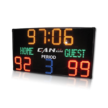 [Ganxin] portable large display Led Scoreboard For Soccer Stadium