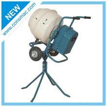 CONSMAC Electric portable plastic drum concrete mixer Promotion mini concrete mixer with best price