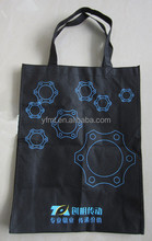 Nonwoven shopping bag with rope