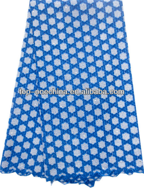 2012 New Design Lace Fabric /Mesh Embroidery Lace