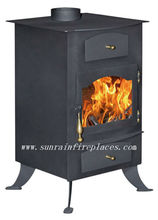 steel plate stove with oven(NC001)