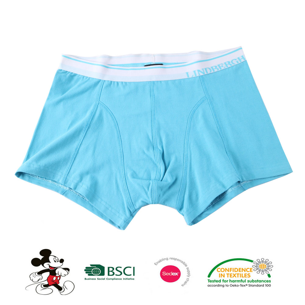 Simple mans cotton boxer body basics underwear sexy young men underwear