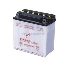 High quality 12N9-4B-1 Dry Cell Motorcycle Battery 12V 9AH