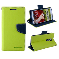 Fashion Fancy Leather Cover for Sony Xperia C c2305 s39h Mercury Goospery Case