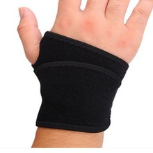 New products black power weight wrist wraps for spine