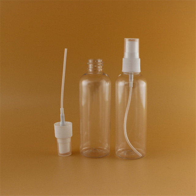 100ml Cosmetic Spray PET Bottles Scent Refillable Atomizer Bottle Clear Empty Plastic Spray Bottle