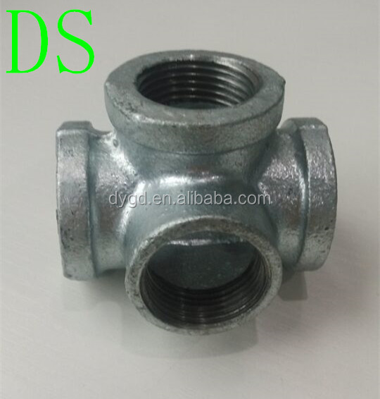 Malleable Ductile Iron Pipe Fitting Elbow Tee Flange