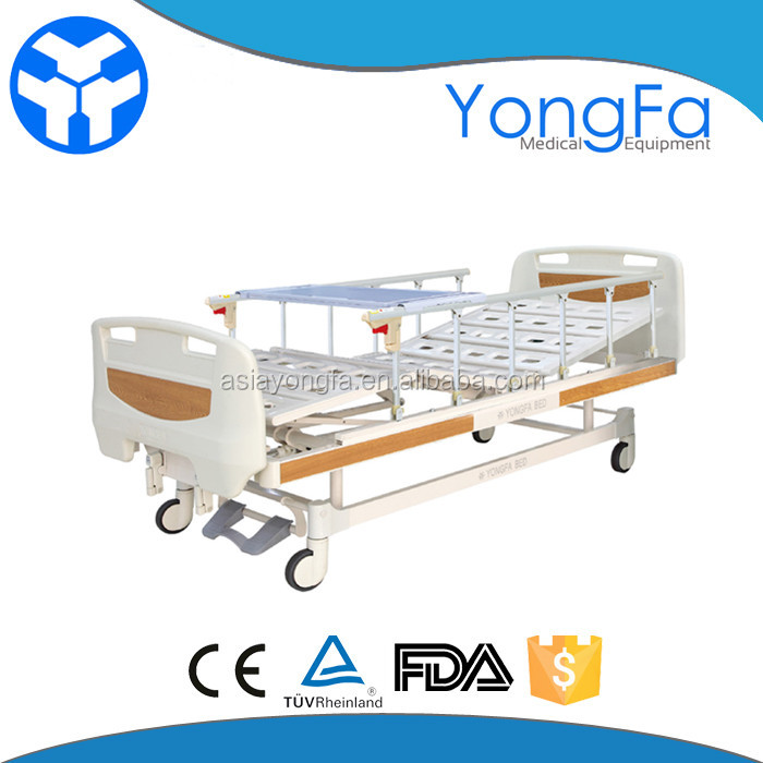 YFC261K(III) top china furniture medical adjustable bed with collapsible side rail