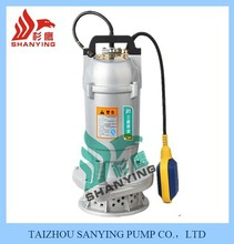 Water pump with float switch submersible pump manufacturers in China