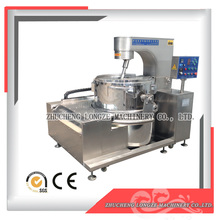 Commercial caramel industrial popcorn machine