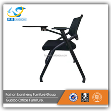 School chair folding study classroom student chair with writing pad board