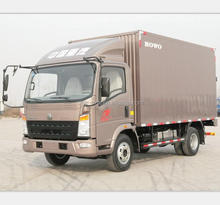 sinotruk howo 85hp 4x2 china mini van truck