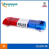 full-size LED light bar for police car, fire truck, ambulance, or vehicle police lights white,amber,red