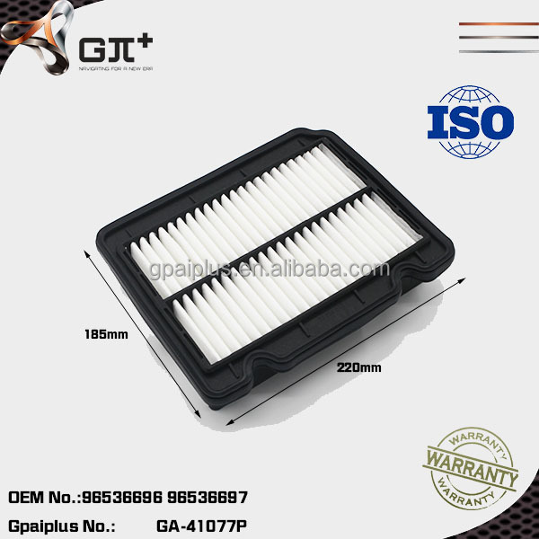 High quality Car Air Filter Excelle Engine Part 96536696