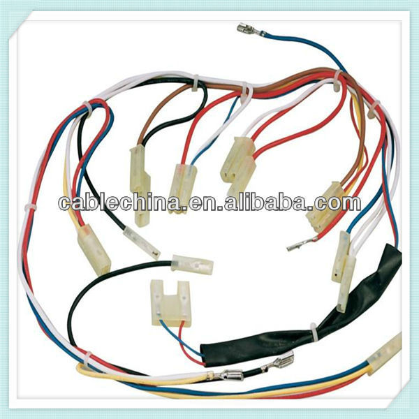replacement wire harness, customized wire harnest,cable wire harnes asssembly for motorcycles