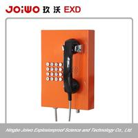 Professional industrial SOS telephone round keypad phone