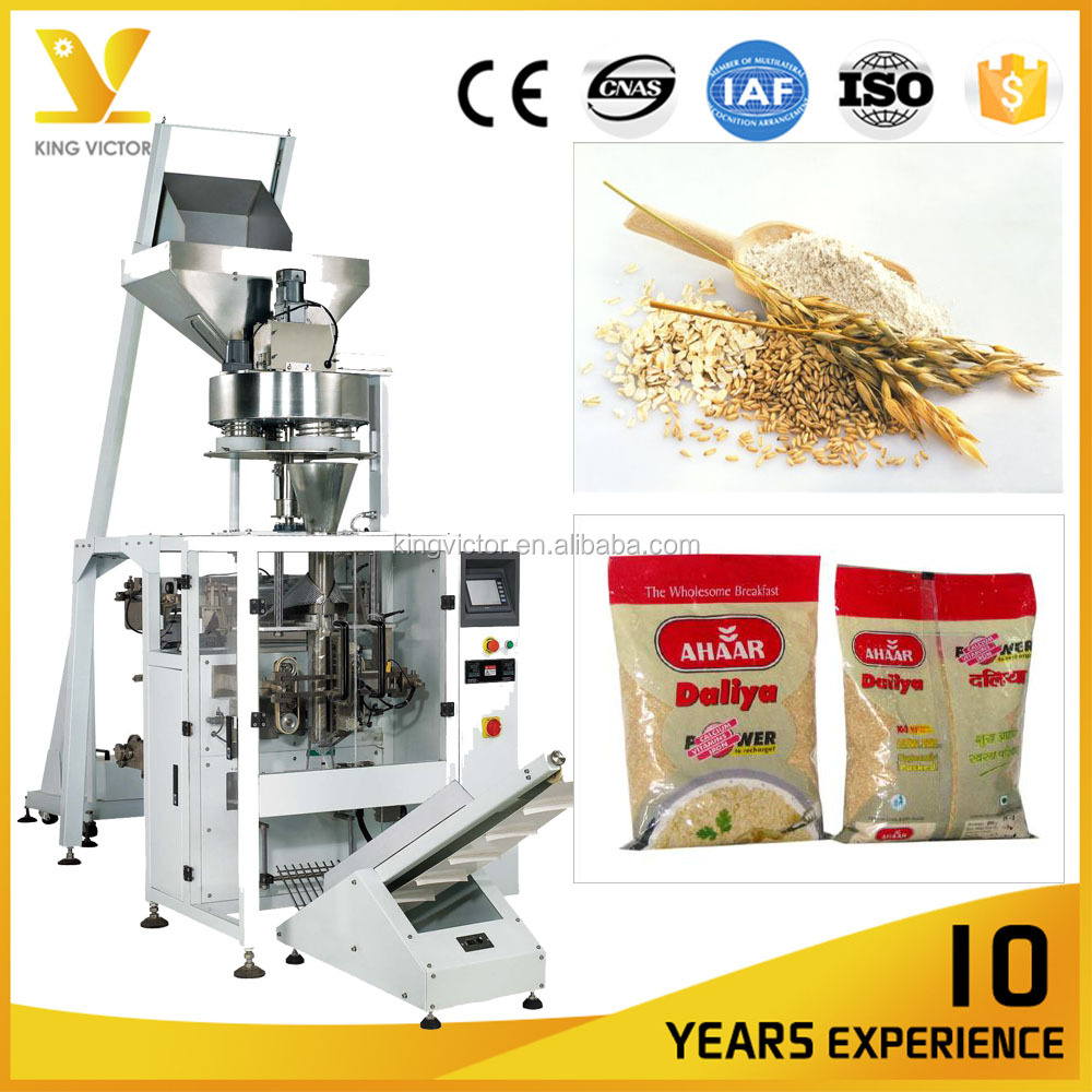 Full Automatic Bag Packaging Machine for Cassava Gari (Granules)