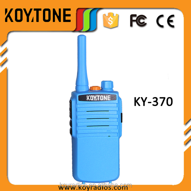 High Quality Low Cost Good Voice Professional Sensitive Mobile Radio Portable Handy Talkie KY-370